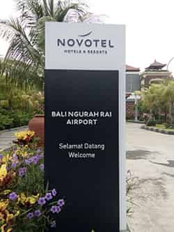 how to get to novotel bali airport