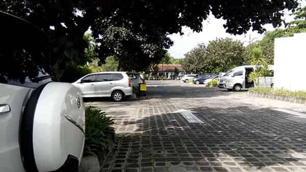 Inaya Nusa Dua Bali Hotel Car Parking Area