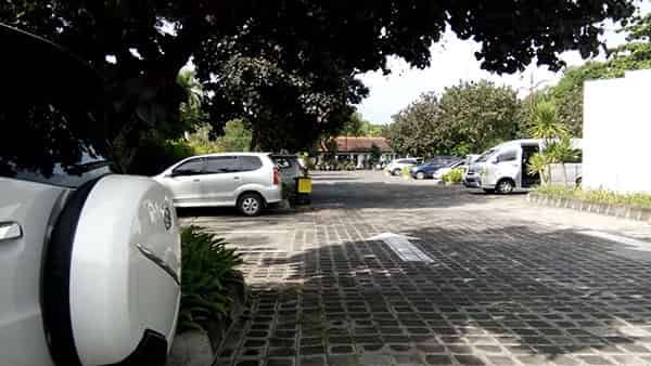 Inaya Nusa Dua Bali Hotel Car Parking Area