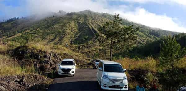 Car Hire With Driver at Mount Batur Bali
