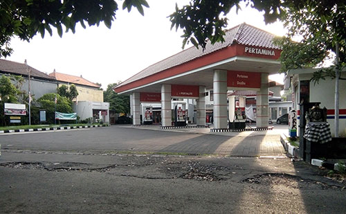 Bali gas station where to buy petrol in Bali